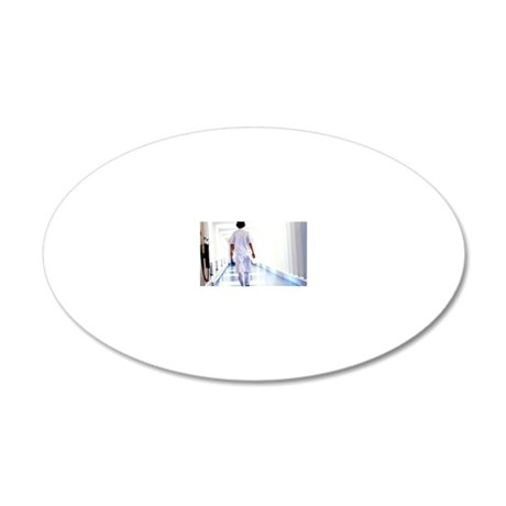 Physician assistant 20x12 Oval Wall Decal
