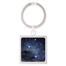 The constellation of the Southern  Square Keychain