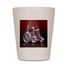 Wheelchair Shot Glass