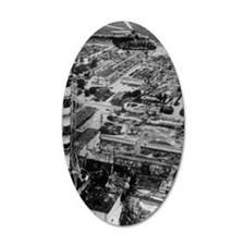 Aerial view of Chernobyl soo Wall Decal