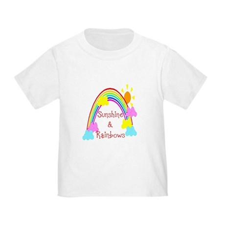 Sunshine Rainbows Toddler T-Shirt