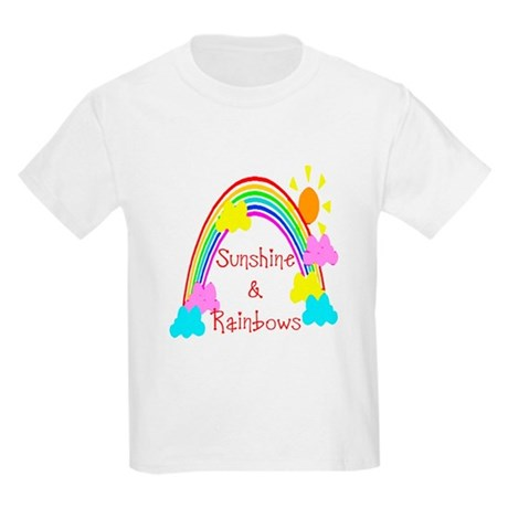Sunshine Rainbows Kids Light T-Shirt