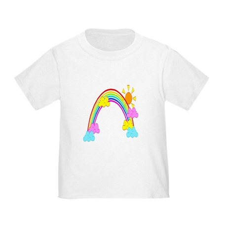Rainbow Toddler T-Shirt