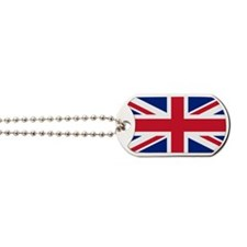 Union Jack Dog Tags
