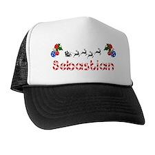 Sebastian, Christmas Trucker Hat