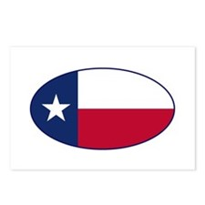 Texas Flag - TX Postcards (Package of 8)