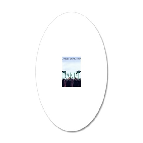 Daniel Cover Main Graphic 20x12 Oval Wall Decal