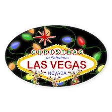 Las Vegas Christmas Lights Decal