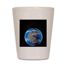 Earth at time of Pangea Shot Glass