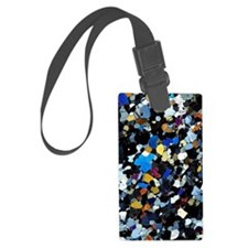 Granulite mineral, light microgr Luggage Tag
