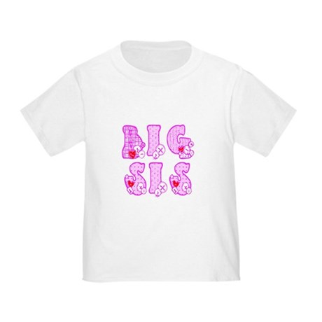 Big Sis Toddler T-Shirt