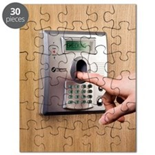 Fingerprint scanner Puzzle