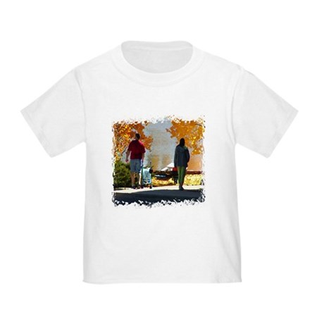 Early Autumn Stroll Toddler T-Shirt