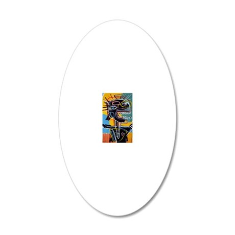 MISFIT 20x12 Oval Wall Decal