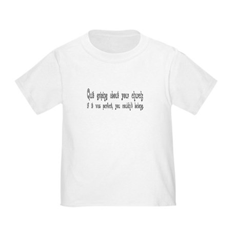 Perfect Church Toddler T-Shirt
