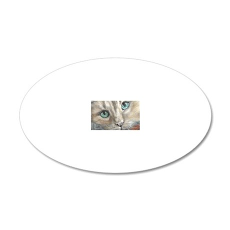 Annabella - scan 20x12 Oval Wall Decal