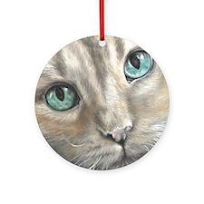 Annabella - scan Round Ornament