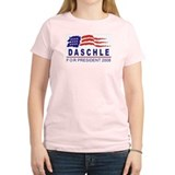 Tom Daschle 2008 (wave) T-Shirt