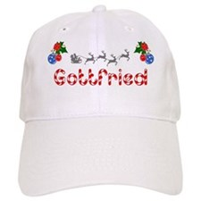 Gottfried, Christmas Baseball Cap