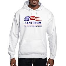 Rick Santorum 2008 (wave) Hoodie