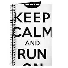 Keep Calm and Run On 26.2 Journal
