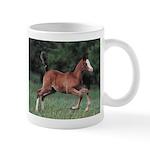 Playful Foal Horse Lover Coffee Mug