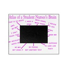 atlas student nurse brain PINK Picture Frame