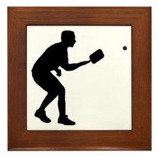 Pickleball-AA Framed Tile