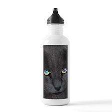 Unique Cat w/ Cool Eye Water Bottle