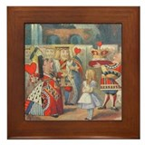 Queen of Hearts Framed Tile
