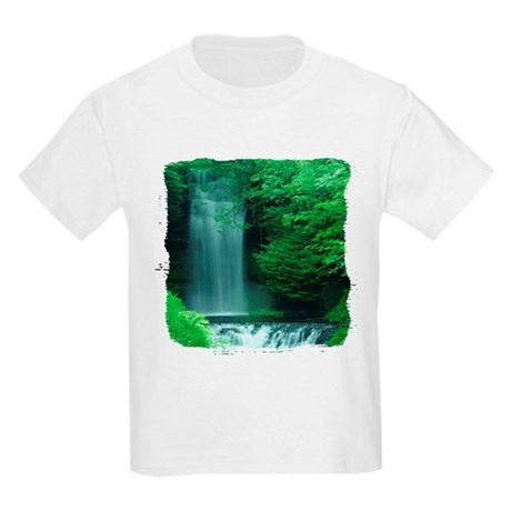 Waterfalls Kids Light T-Shirt