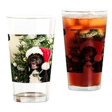 Bo the Dog Drinking Glass