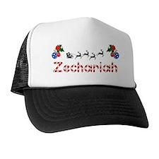 Zechariah, Christmas Trucker Hat