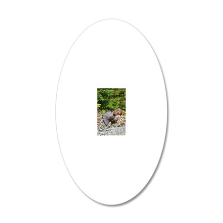 5x8_journal 8 20x12 Oval Wall Decal