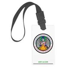 LAFD-CERT-LA 1 Liter Water Bottl Luggage Tag