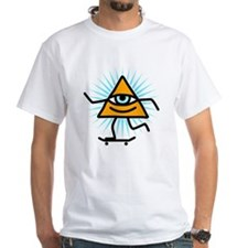 Pyramid eye skate god Shirt