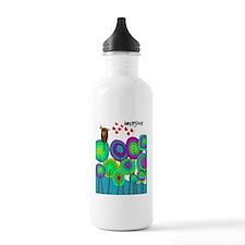 imagine cell case blue Sports Water Bottle