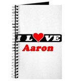 I Love Aaron Journal