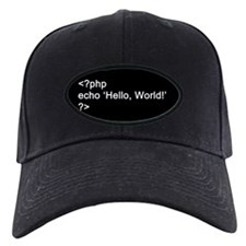 PHP Hello World! Baseball Hat