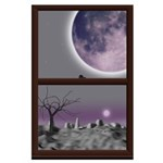 Window On Twilight Large Poster