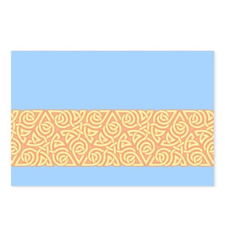 Sunny Triangle Knot Postcards (Package of 8)