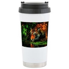 Tiger Reflection Travel Mug