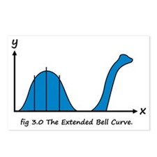 Bell Curve Postcards (Package of 8)
