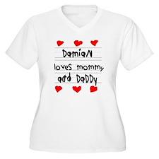 Damian Loves Momm T-Shirt