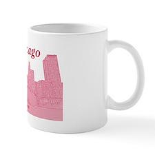 ChicagoBeanSkyline_Rectangle_Red Mug