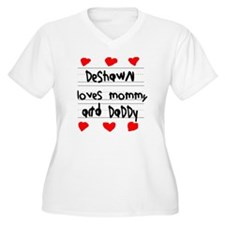 Deshawn Loves Mom T-Shirt
