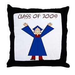 Class of 2009 Throw Pillow