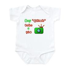 Say Click Infant Bodysuit