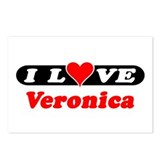I Love Veronica Postcards (Package of 8)