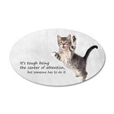 Kitten Bag Wall Decal